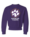 Youth NuBlend Crewneck Sweatshirt | Full-Front Paw