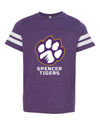 Youth Football Jersey Tee | Full-Front Paw
