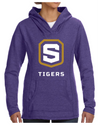 Women's French Terry Hooded Sweatshirt | Tigers Shield