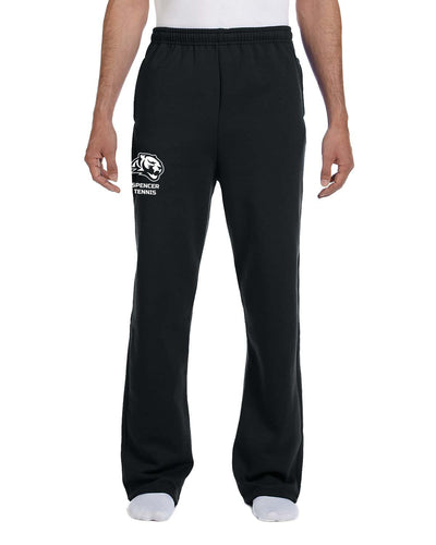 Adult Open Bottom Sweatpants with Pockets | Spencer Tennis