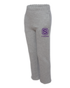 Youth Jerzees NuBlend Open Bottom Sweatpants | Shield