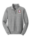 "Youth Nublend 1/4 Zip Sweatshirt  | S-Shield ""Tigers"" Embroidery"