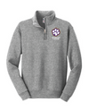 Youth Nublend 1/4 Zip Sweatshirt  | Spencer Tigers Paw Embroidery