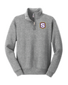 Youth Nublend 1/4 Zip Sweatshirt  | S-Shield Embroidery