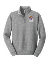 Youth Nublend 1/4 Zip Sweatshirt  | Spencer Tigers - Tiger Head Embroidery