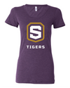Women's Triblend Short Sleeve T-Shirt | Tigers Shield