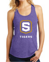 Women's Triblend Racerback Tank | Tigers Shield