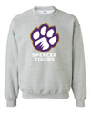 Adult Heavy Blend Crewneck | Full-front Paw