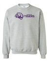 Adult Heavy Blend Crewneck | Horizontal Tiger