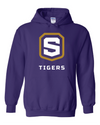 Adult Heavy Blend Hooded Sweatshirt | Tigers Shield