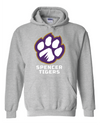 Adult Heavy Blend Hooded Sweatshirt | Full-front Paw