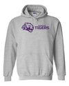 Adult Heavy Blend Hooded Sweatshirt | Horizontal Tiger