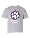 Youth Cotton Short Sleeve T-Shirt | Full-Front Paw