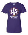 Women's Cotton Short Sleeve T-Shirt | Full-Front Paw