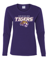 Women's Heavy Cotton Long Sleeve T-Shirt | Tigers Spirit