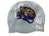 Spencer Tigers Licensed Swim Cap- Tiger Head