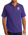 "Core Blend Pique Polo | S-Shield ""Tigers"" Embroidery"