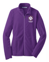 Women's Microfleece Jacket | Spencer Tigers Paw Embroidery