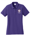 Women's Core Blend Pique Polo | Spencer Tigers Paw Embroidery