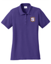 Women's Core Blend Pique Polo | S-Shield Embroidery