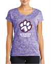 Women's PosiCharge Sporty Tee  | Full-Front Paw