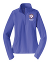 Women's Sport-Wick Stretch 1/2-Zip Pullover | Spencer Tigers Paw Embroidery