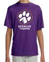 Youth Cooling Performance T-Shirt | Full-Front Paw