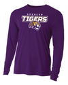 Youth Long Sleeve Cooling Performance Shirt | Tigers Spirit