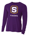 Youth Long Sleeve Cooling Performance Shirt | Tigers Shield