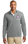 Adult Interlock 1/4-Zip | Spencer Tigers Paw Embroidery