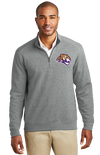 Adult Interlock 1/4-Zip | Tiger Head Embroidery