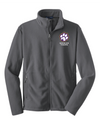 Youth Value Fleece Jacket | Spencer Tigers Paw Embroidery