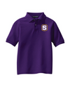 Youth Silk Touch Polo | S-Shield Embroidery