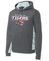 Youth Sport-Wick Fleece Hooded Sweatshirt | Tigers Spirit