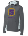 Youth Sport-Wick Fleece Hooded Sweatshirt | Tigers Shield