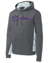 Youth Sport-Wick Fleece Hooded Sweatshirt | Horizontal Paw