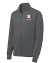 "Youth Sport-Wick Fleece FZ Jacket | S-Shield ""Tigers"" Embroidery"