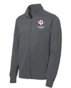Youth Sport-Wick Fleece FZ Jacket | Spencer Tigers Paw Embroidery