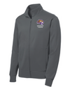 Youth Sport-Wick Fleece FZ Jacket | Spencer Tigers - Tiger Head Embroidery