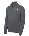Youth Sport-Wick Fleece FZ Jacket | Tiger Head Embroidery