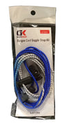 GK Swimwear Bungee Cord Goggle Strap Kit (2 Sets)