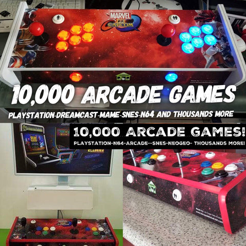(JUST of RE-STOCKED!) 10,000 game Arcade Pad!! PLUG-n-PLAY ready!!! (9 month Warranty) (USA ORDER & DELIVERY ONLY) (7 day DHL delivery) (PayPal only)