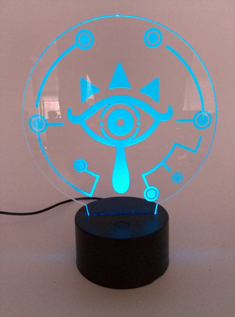BREATH OF THE WILD LINK Temple  Icon  Visual Illusion LED 3D Light Nightlight