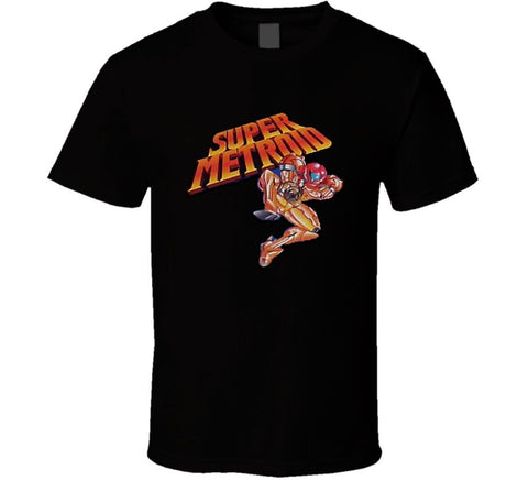 Super Metroid SNES Video Game T Shirt