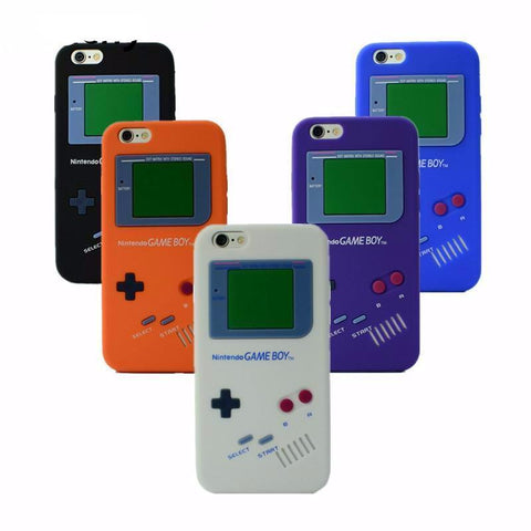 GameBoy iphone Case Cover (For 7 7 Plus 6 6s Plus 5 5s  8 Colors Avaliable)