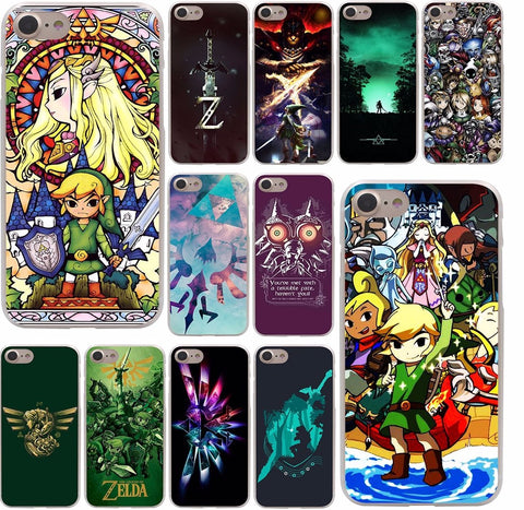 the Legend Of Zelda  phone Hard Case for iPhone 10 X 8 7 6 6s Plus 5 5S SE 5C 4 4S