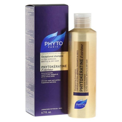 PHYTOKÉRATINE EXTRÊME SHAMPOO 200ml - Imported from France