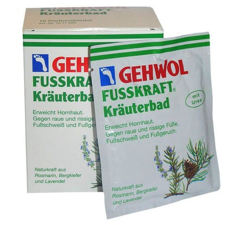 Gehwol Fusskraft Krauterbad 200g - Imported From Germany