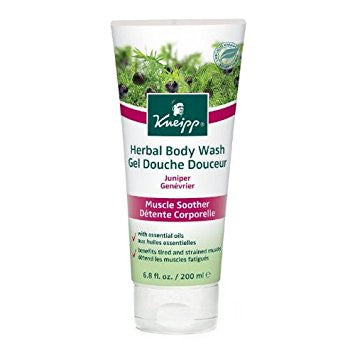 Kneipp Herbal Body Wash Juniper Muscle Soother 200ml - Imported From Germany