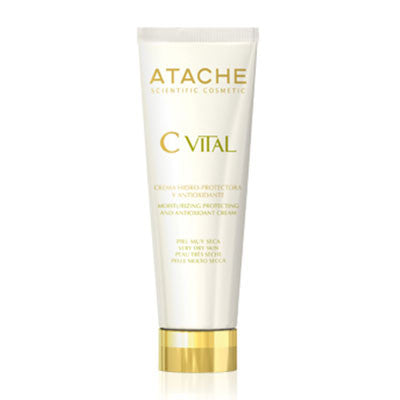 Atache C Vital Moisturizing Protecting & Antioxidant Cream Very Dry Skin 50ml